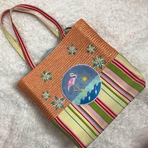 Handbags - Flamingo Beach Tote